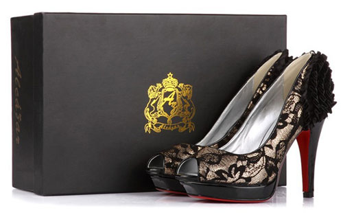 ccd9d51f7b98 cheap red bottom shoes reviews. Birthday Gifts for wife with fabulous lace  peep toe pumps . ...