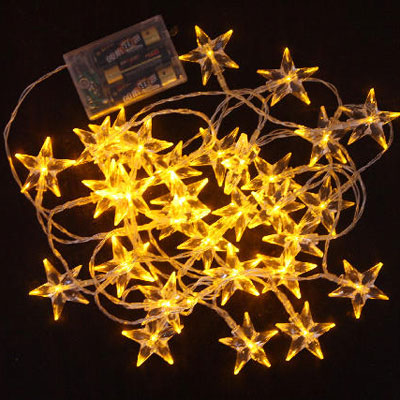 Crystal Transparent Christmas Tree LED String of Decoration