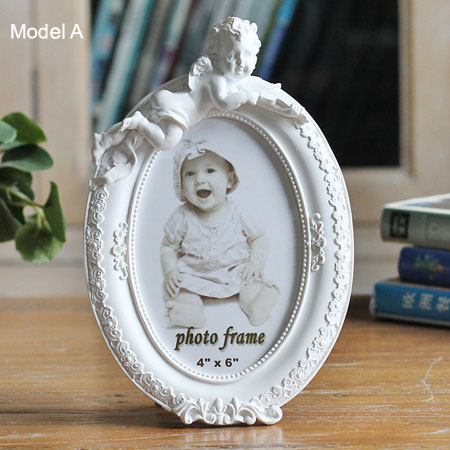 Kids 4x6 Picture Frames with Ornamental Angels