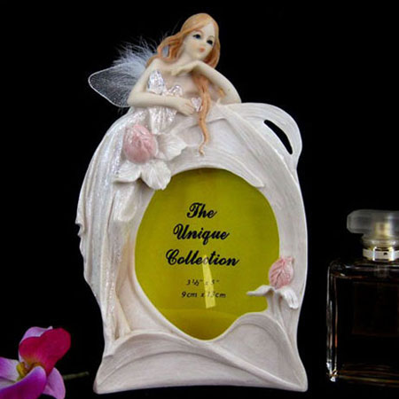 Home Decor Gifts for Girls with Angel Photo Frame