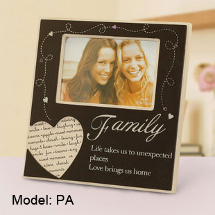 Hand-crafted Wooden Picture Frames for 4 x 6 Family photos