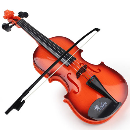 Realistic Toy Fiddle for Kids Mechanical Musical Violin