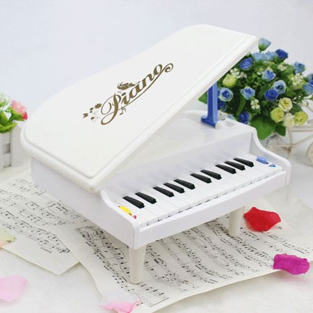 Blue Kids Toy Electronic Piano Keyboard Baby Musical Toys - Click Image to Close