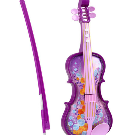 Purple Pink Kids Toy Violin Musical Toy Instruments for Toddlers