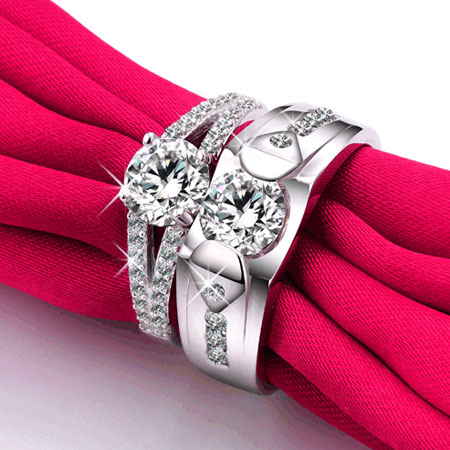 Image Result For Cubic Zirconia Wedding Rings Cheap