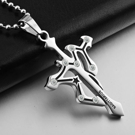 Cool Cross Necklaces for Men Stainless Steel Titanium