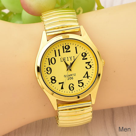 Vintage Stretch Band Watches for Women/Men Retro Old Styles