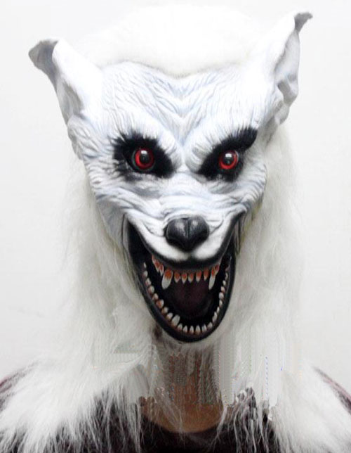 Wolf Mask for Carnival or Masquerade