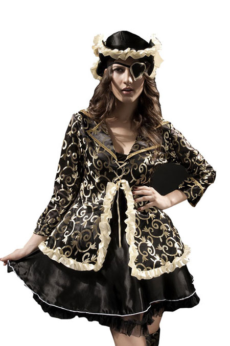 Women Pirate Costumes as Halloween Outfits
