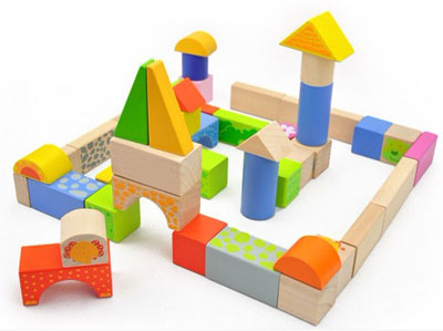 ... and animal Colorful Building Bricks 50 PCS Wooden Blocks for Kids