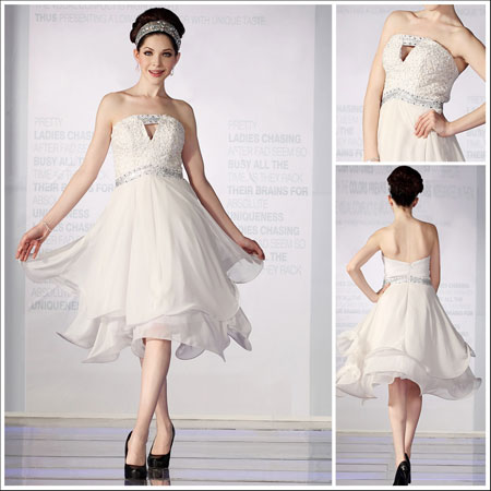 White Graduation Dress on Short White 8th Grade Graduation Dress Sweet Heart